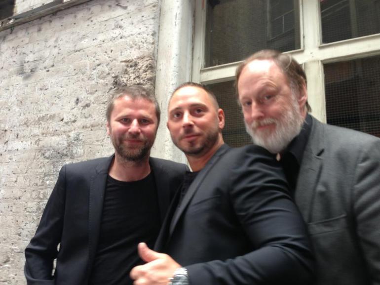 Arne Dahl's stars courtesy of James Rea