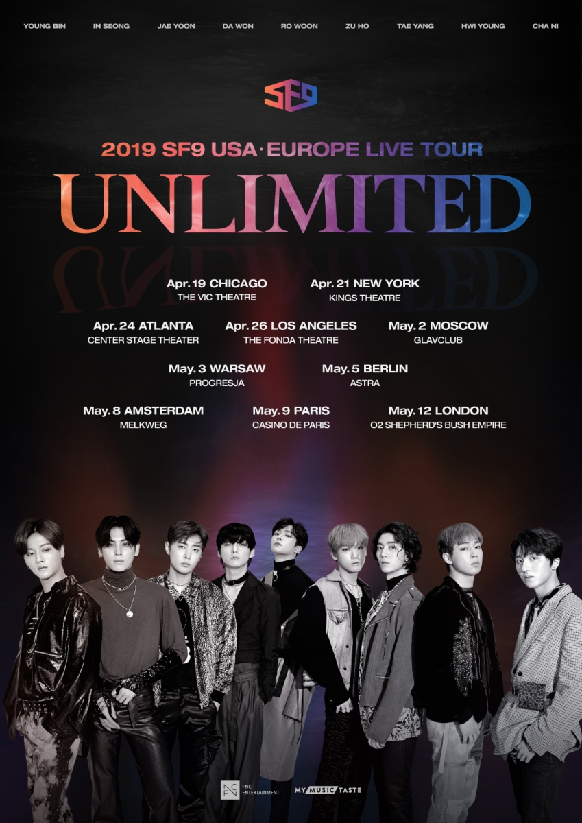 The Roar of K-pop Continues: SF9 to Perform in London | VIEW